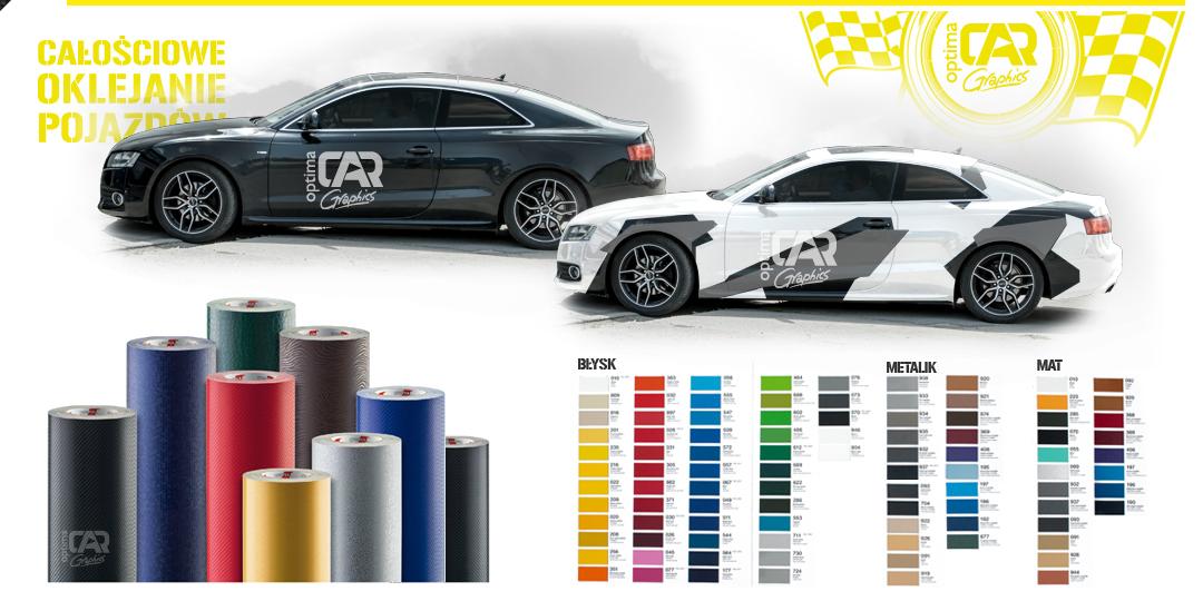 cargraphics zmiana koloru auta